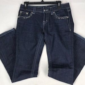 Miss Me easy boot jeans size 26 EUC